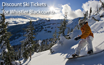 Whistler ski resort discount ski tickets and by owner lodging
